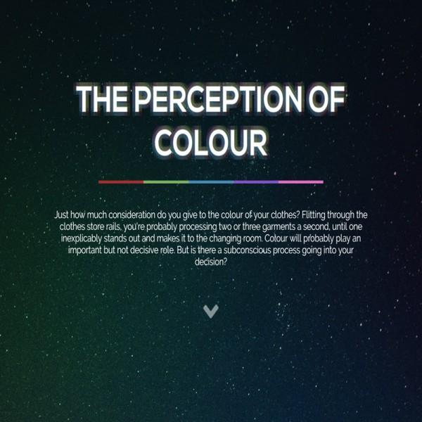 The Perception of Colour
